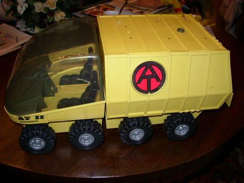 Hasbro, GI Joe Adventure Team Mobile Support Vehicle