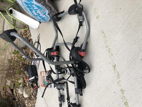 Bike rack for Mini Cooper hatchback