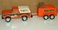 NY-LINT Pressed Steel Toys: Truck & Horse Trailer
