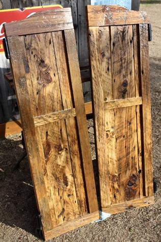 Handmade Saloon Doors