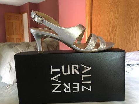Silver sandal
