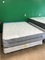 BRAND NEW QUEEN SIZE THICK MATTRESS AND BOXSPRING, ORTHOPEDIC