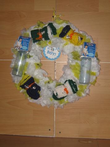 It's  A Boy Baby Shower Wreath 4