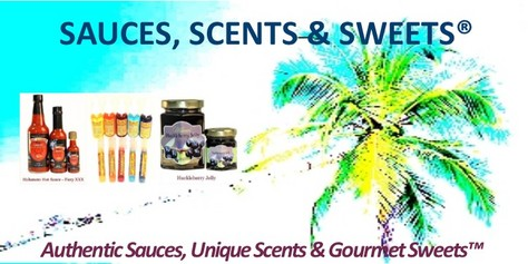 SAUCES, SCENTS & SWEETS