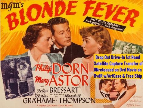 """""""Blonde Fever"""" (1944){DvdR}"""