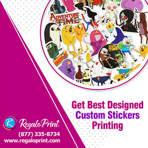 Custom made stickers are more powerful in all indoor/outdoor promotional activities.
