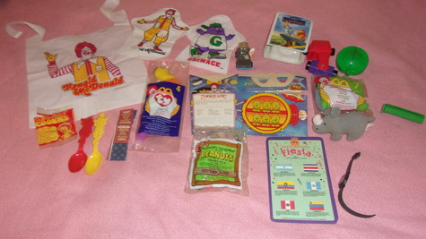 LOT OF OLDER MCDONALD COLLECTIBLES