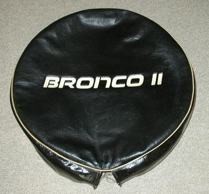Bronco II Spare Tire Cover