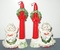 Vintage, Lace Angel Candle Holders & Climbers