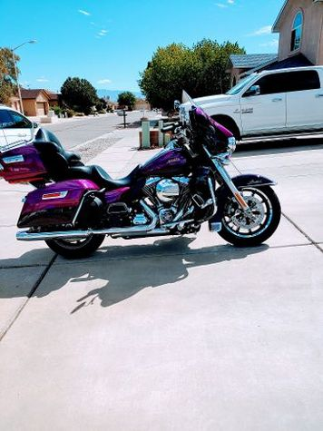 Harley right side view