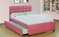 new trundle bed for sale, twin over twin, black, white or pink