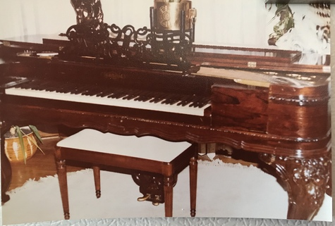 Chickering & Sons Rosewood Piano