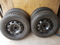 """Four 15"""" Goodyear Winter Tires"""