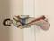 Estate Japanese Geisha Hand Painted & Unglazed