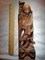 Estate Hand Carved Holy Man with Staff