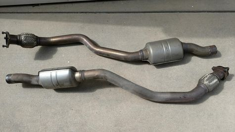 front pipes