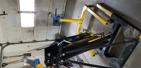 Shop Crane and Engine stand