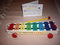 FISHER PRICE XYLOPHONE W BATON, BOOK MUSIC