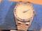 Unique Quartz Wristwatch Silver case excellent condition