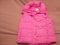 Women's Vest Pink in color