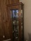 Curio cabinet & 3 occasional tables