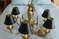 Lovely brass chandelier