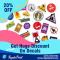 Get 20% Discount On Decals - RegaloPrint