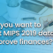 Don't you want to report MIPS 2019 data to improve finances?