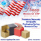 Premium Discounts On Quality Packaging During Memorial Day