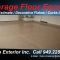 Garage Floor Epoxy Coating  / Concrete Steam Cleaning