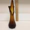 Estate Hand Blown Dramatic Profile Decorative Glass
