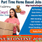 Part Time Home Based Data Entry Work / Home Based Copy Paste Job