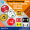 Social Distancing Stickers With Top-Notch Quality - RegaloPrint