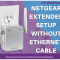Netgear Extender Setup Without Ethernet Cable
