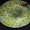 Blown Glass: Dragon Fly Bowl