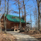 Cabellas Log Cabin Home in 24 acres