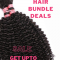 Enjoy Upto 60% on Human Hair Bundle Deals