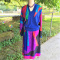 Phillippe Marques Jewel Tone Top & Skirt Set