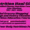 Nutrition Haul Girl