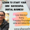 Work from home/Digital business Owner