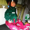 Rare Vintage Native American Boy Porcelain Doll