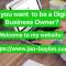 Global online digital business