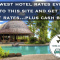 Cheapest Hotels Rates